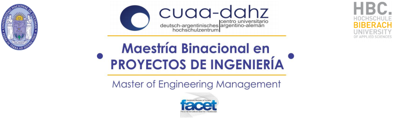 Sitio oficial de la Maestría Binacional en Proyectos de Ingeniería
